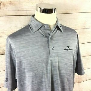 FOOTJOY Tommy Armour Gray Men's Space Dye Polo